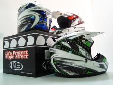 casque Cross Victoria Bull