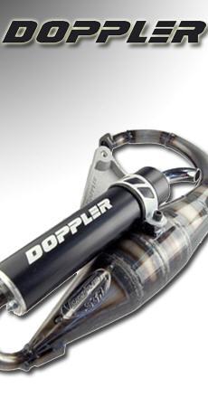 Pot d'�chappement scooter DOPPLER S3R EVO adaptable MBK BOOSTER